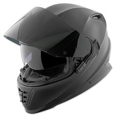 Speed and Strength SS1600 Solid Matte Black Full Face Helmet | 212-347