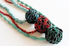 folds | spheres : necklace