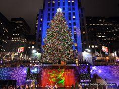 Rockefeller Center, N.Y: Nothing beats N.Y.C. during the Christmas Season