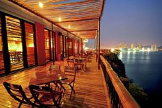Restaurant in Santa Marta, Colombia: Burukuka! THE BEST!!! LOVE THE VIEW