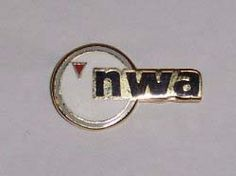Northwest Airlines Airline Logo Pin