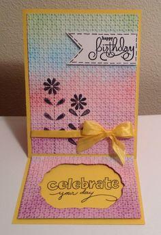 Birthday card for Ashley 2015