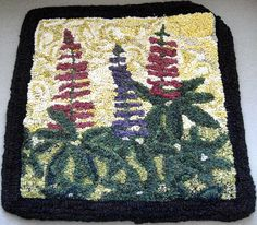 Gallery Lupine Joyce Barr Rug Hooking, Rugs, Gallery, Ideas, Home Decor, Farmhouse Rugs, Decoration Home, Roof Rack, Room Decor