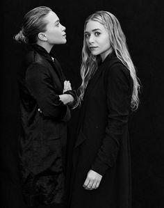 Mary-Kate and Ashley Olsen - The ultimate fashion twins. Mary Kate Ashley, Mary Kate Olsen, Olsen Twins Style, Olsen Sister, Fashion Gone Rouge, Annie Leibovitz, Business Portrait, Ashley Olsen, How To Pose