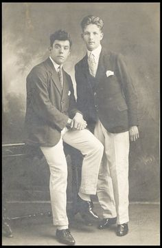 Dixie Dean (left) and Ellis Rimmer (right), Sheffield Wednesday, 1920s