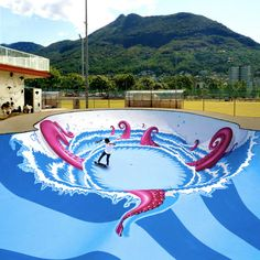 7 of the Coolest Skateparks Ever Skate Art