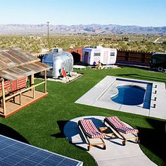 20 most unique hotels in the West | Hicksville Trailer Palace, Joshua Tree, CA | Sunset.com