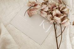 Wedding Stationery - Invite - Invitation - Neutral Tones - Linen - Flowers - Graphic Designer - Wedding - Bridal - Bride - Groom - Save The Date Design Boutique Design, A Boutique, Wedding Stationery, Wedding Invitations, Invitation Suite, Invite, Save The Date Designs, Little White, Neutral Tones