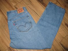 Levis 505 Mens Jeans Classic Straight Fit 38X30  505's Since 1967 #Levis #ClassicStraightFit