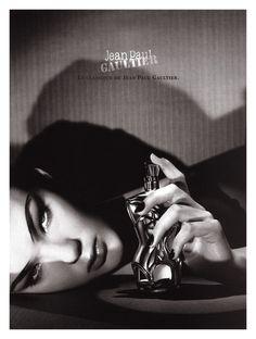 Jean Paul Gaultier's Classique Fragrance Campaign by Jean-Baptiste Mondino, 1999