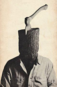 Photographie & montage. Tony Palladino. #jesuisunebûche http://www.tonypalladino.com/