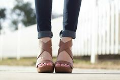 the best brown wedges for spring and summer
