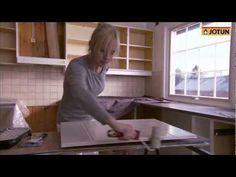 Hvordan male kjøkken - YouTube