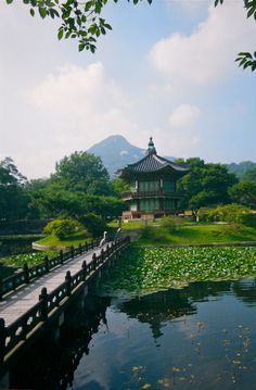 Gyeongbok Palace...love that crane!