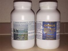 Monatomic Gold Ormus White Powder Gold and Marine Phytoplankton 120 Count #OrmusMinerals $99 Free Shipping
