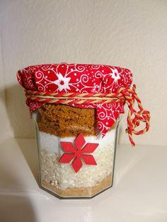 Riz au lait au spéculos ... cadeau DIY de Noël !