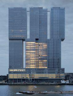 De Rotterdam by O.M.A. - photos by Raban Haaijk.