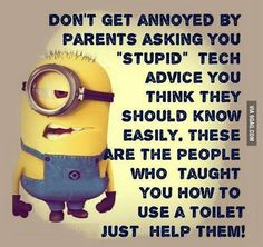 My son needs to understand this!