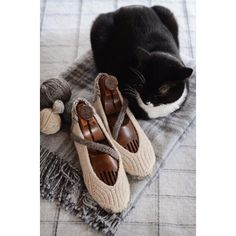 These would make lovely and comfortable shoes. Porbably could sew on a leather or rubber bottom. Quiescent Knitting pattern by Hunter Hammersen | Knitting Patterns | LoveKnitting
