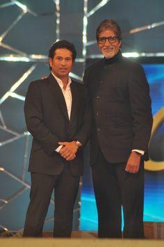 Amitabh Bachchan & Sachin Tendulkar @ Umang Police Awards 2013