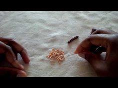 Herringbone square toggle - YouTube