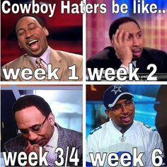 Convertin' a lot off haters this year Dallas Cowboys Football, Dallas Cowboys Quotes, Cowboys 4, Pittsburgh Steelers, Nfl Memes, Football Memes, Football Stuff, Sports Memes, Football Season