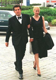 John & Carolyn Bessette Kennedy. I can't believe they're gone!