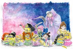 Despicable Princesses I don't know why I love this so much :)