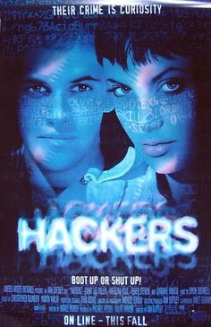 """Hackers""  1995  Directed by: Iain Softley  Thriller / Crime Thriller / Teen Movie"