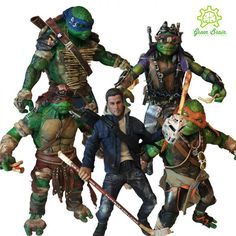 Teenage Mutant Ninja Turtles 2 Out of The Shadows (Teenage Mutant Ninja Turtles) Custom Action Figure