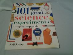 101 Great Science Experiments, Ardley, Neil #InstructionBook