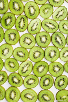 Kiwi Still Life Food Photography Large Wall Art by AmyRothPhoto