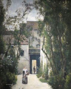 Stanislas Lépine: Precursor del paisaje impresionista y pintor del Sena 1835