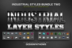 32 Industrial Styles Bundle 2 by DesignFathoms on Creative Market