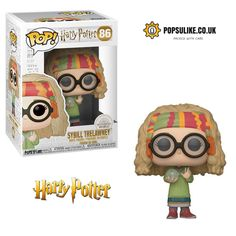 From Harry Potter, Professor sybill Trelawney, as a stylized POP vinyl from Funko! Collect and display all Harry Potter pop! Harry Potter Professoren, Harry Potter Pop Figures, Objet Harry Potter, Cadeau Harry Potter, Fans D'harry Potter, Harry Potter Characters, Funko Pop Harry Potter, Potter Facts, Ginny Weasley
