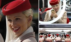 Emirates cabin crew reveal top secrets to looking good on long flights. I posted something like this on here and found one that describes the Emirates cabin crew's beauty routine. The last one I posted was where one of them shared the secrets and the products that she uses and this one shares those secrets more in depth.