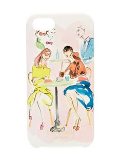 Cafe Scene iPhone 5 Case from Ladylike Accessories Feat. Nina Ricci on Gilt