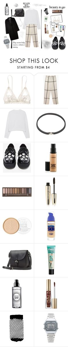"""Look what you've done!"" by lraivn on Polyvore featuring Hanky Panky, 3.1 Phillip Lim, Acne Studios, Wendy Nichol, T.U.K., MAC Cosmetics, Urban Decay, L'Oréal Paris, Rimmel and Maybelline"
