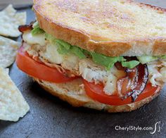 Easy, Delicious Turkey And Avocado Melt
