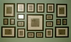 Turn your wall into a gallery with an assortment of IKEA matching frames!