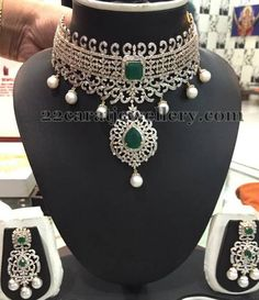 Jewellery Designs: Two Step Rich Collar Choker