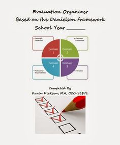 EVALUATION ORGANIZER {FREEBIE}