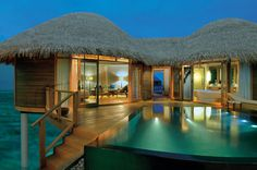 A Water Villa at Constance Halaveli Maldives