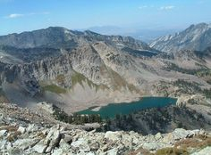 White Pine Lake, one of the highest in the Wasatch. Gotta do this!!! OK did it, and it was a long, hard hike, but awesome! Will do again