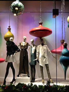 My friend Diana styled this window! Nordstrom San Francisco Centre, Holiday Window Display by Salon de Maria, via Flickr