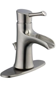 The Gatsby I Single-Handle Bathroom Faucet from Pegasus is WaterSense certified with a 1.5 GPM flow rate to help reduce water use. Durable ceramic disc valves help prevent drips to further conserve water, offering an eco-friendly option for your bathroom. The beautiful, versatile brushed nickel finish is easy to clean and makes a great choice for any new home or renovation.