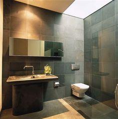 Superieur Bluestone Bathroom