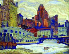 Image of painting by Emil Armin titled The Gateway