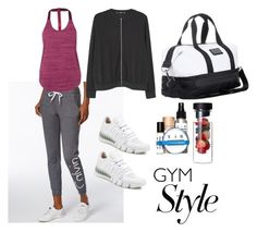 """""""Even During  Vacation I Work Out"""" by design360 ❤ liked on Polyvore featuring Calvin Klein, adidas, MANGO, NIKE and EiR NYC"""