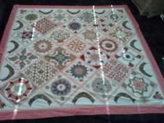 Di Ford Antique Wedding Sampler Quilt. Ford, Quilts, Rugs, Antiques, Crafts, Wedding, Home Decor, Farmhouse Rugs, Antiquities